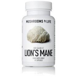 lion's mane capsules biologisch en vegan